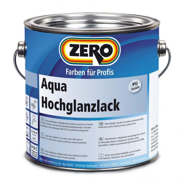 Zero Aqua Hochglanzlack