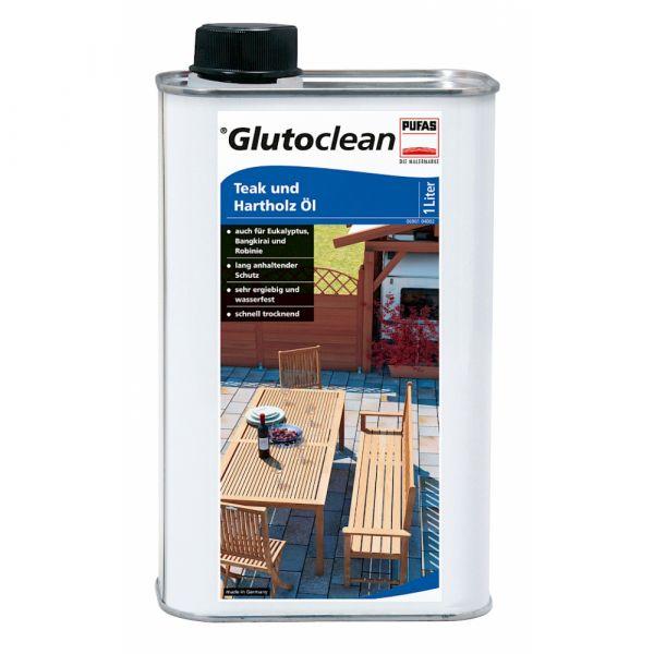 Glutoclean Teak und Hartholz Öl – 1 Liter