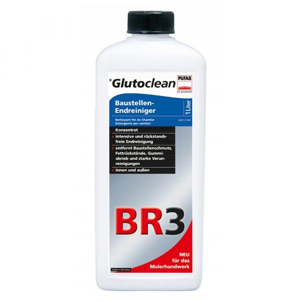 Glutoclean Baustellen-Endreiniger BR3 – 1 Liter