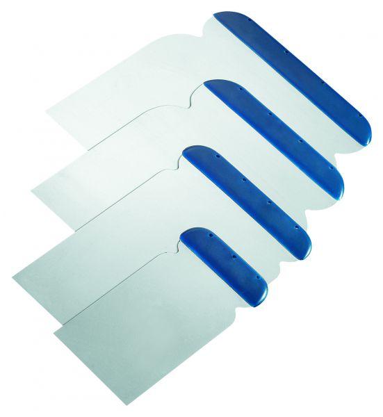 Storch Japanspachtel-Satz Stahl – Set aus 5,8, 10, 12 cm