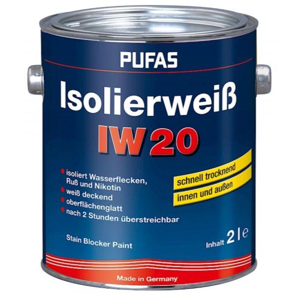 Pufas Isolierweiß IW20