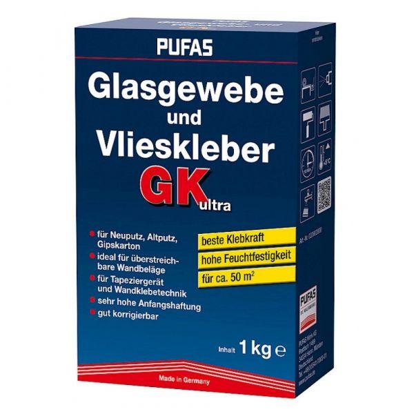 Pufas Glasgewebe- und Vlieskleber GK ultra