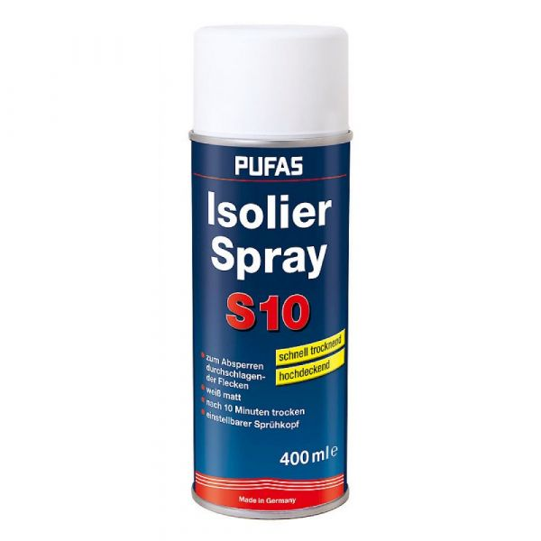 Pufas Isolierspray S10 – 400ml