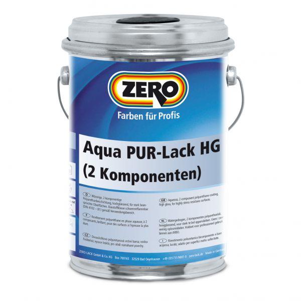 Zero Aqua PUR Lack Hochglanz – inkl. Härter