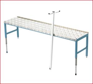 Tapofix Ersatzteil Nr. 278 – Arbeitsbrücke Glasgewebe Abrollgerät komplett