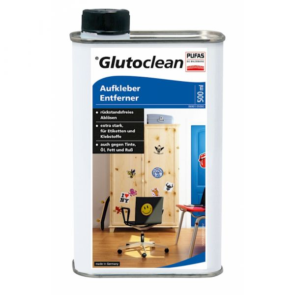 Glutoclean Aufkleber Entferner – 500ml