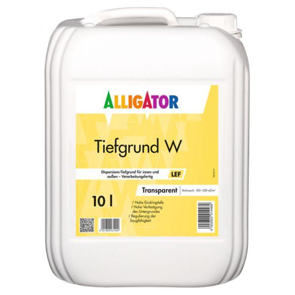 Alligator Tiefgrund W LEF – 10 Liter