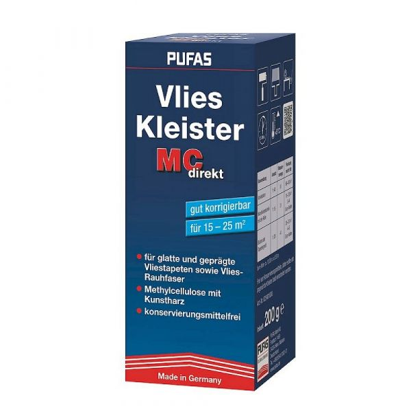 Pufas Vlies-Kleister MC direkt – 200g